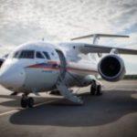 Спецборт МЧС России осуществляет санитарно-авиационную эвакуацию тяжелобольного ребенка из Симферополя в Москву