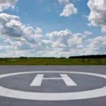 В Сорске разровняли площадку для санитарных вертолетов